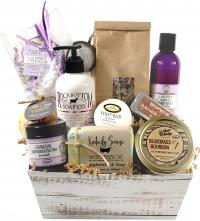 A gift box with Kentucky's best pampering products
