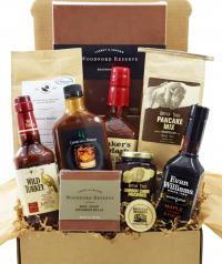 Kentucky's best bourbon products all in one basket