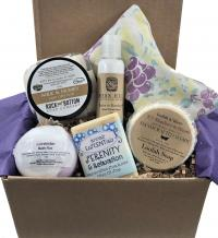Pampered Lady gift box made in Kentucky, USA