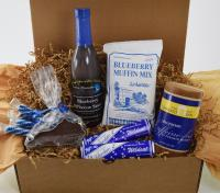 KY Wildcat gift box made with KY Proud products in KY, USA