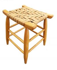 Lovely cherry stool made in Kentucky