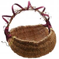hand woven seagrass basket XL made in KY, USA