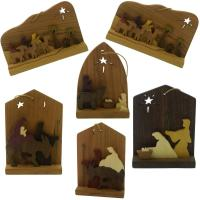 nativity ornament set made in KY USA
