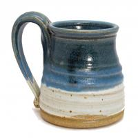 blue toned mug made in Kentucky
