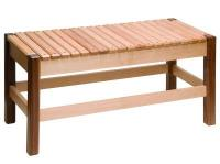 harmony bench made by Berea College Crafts in Kentucky