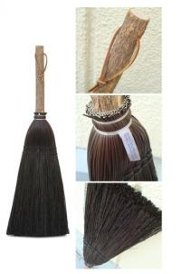 fireplace broom by Berea College Crafts made in Kentucky