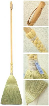 shaker braid broom by Berea College Crafts made in Kentucky