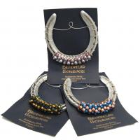 authentic be-dazzled KY horseshoes made in Kentucky