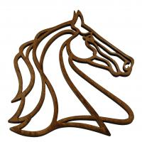 horse head trivet made in Louisville, KY USA.
