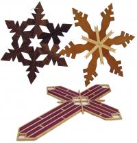 KY Snowflake ornaments made in Kentucky