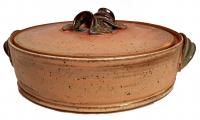 lidded casserole by Terri Berish made in Lexington, KY, USA