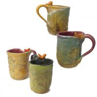 bird mugs made in Kentucky