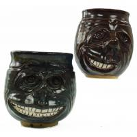hand carved face mugs - Kentucky made!
