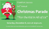 """For the kid in all of us"" is the theme of the 2012 Frankfort Christmas Parade"